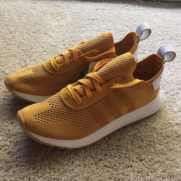 new products d9130 2054a Adidas Flashback Primeknit Shoes - Yellow US8.5